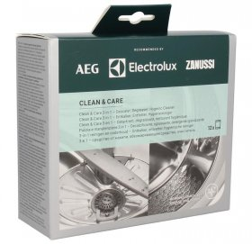 Electrolux AEG Descaling And Cleaning - M3GCP400 Clean And Care 3 In 1 (12pcs) - 9029799195