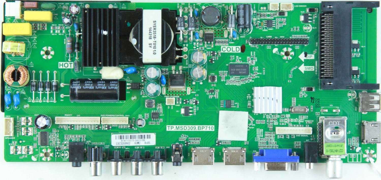 Blaupunkt 32/233I-GB-5B2-HKDUP-UK - Main AV - TP.MSD309.BP710 - LSC320AN02 - B14110070 - 4502236-9-CVTE