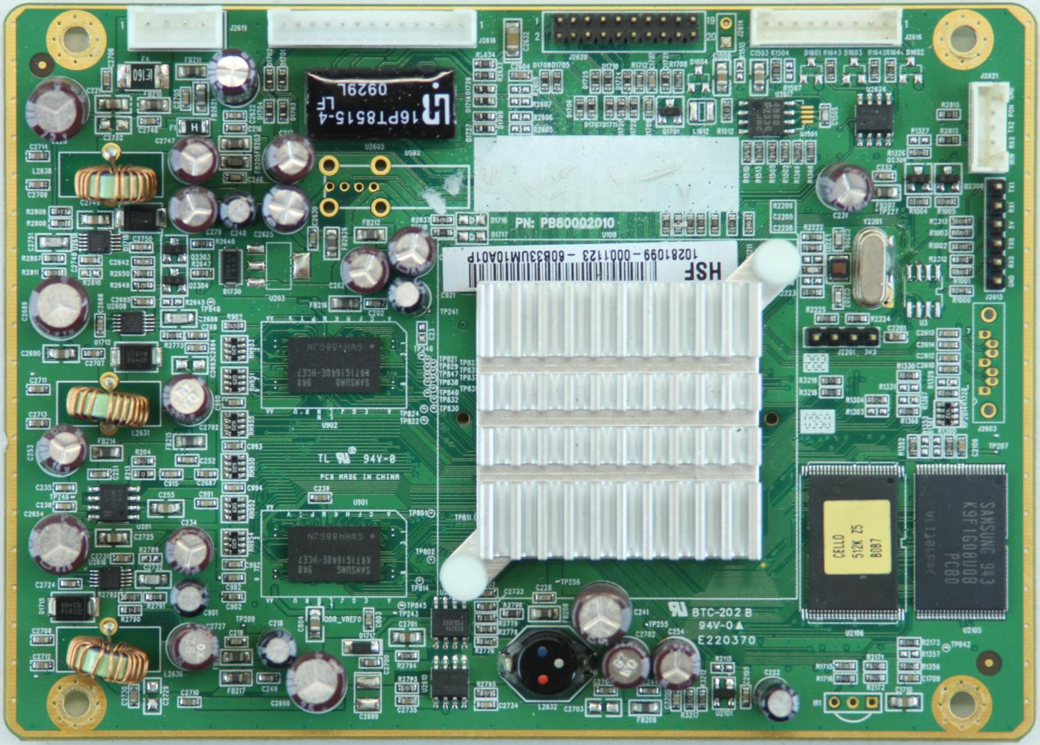 Cello C5566DVB-IPTV V1 - Interface Board - PB80002010