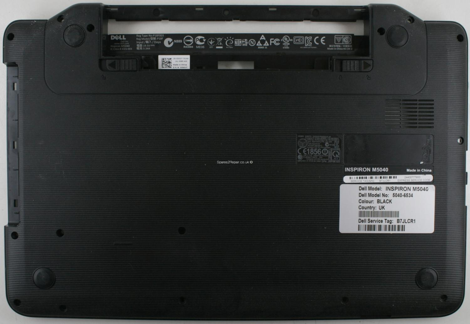 Dell Inspiron M5040 - Bottom Base - 60 4IP05 022 - A02