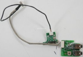Dell - Vostro - 1700 - Audio Jack Board w/Sniffer Board and Cable - 3EGM2AB0009 - 3FGM2SB0001