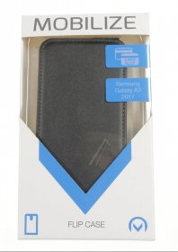 Mobilize Leather Bag Gsm - 23064 Mobilize Classic Gelly Flip Case Samsung Galaxy A3 2017 Black