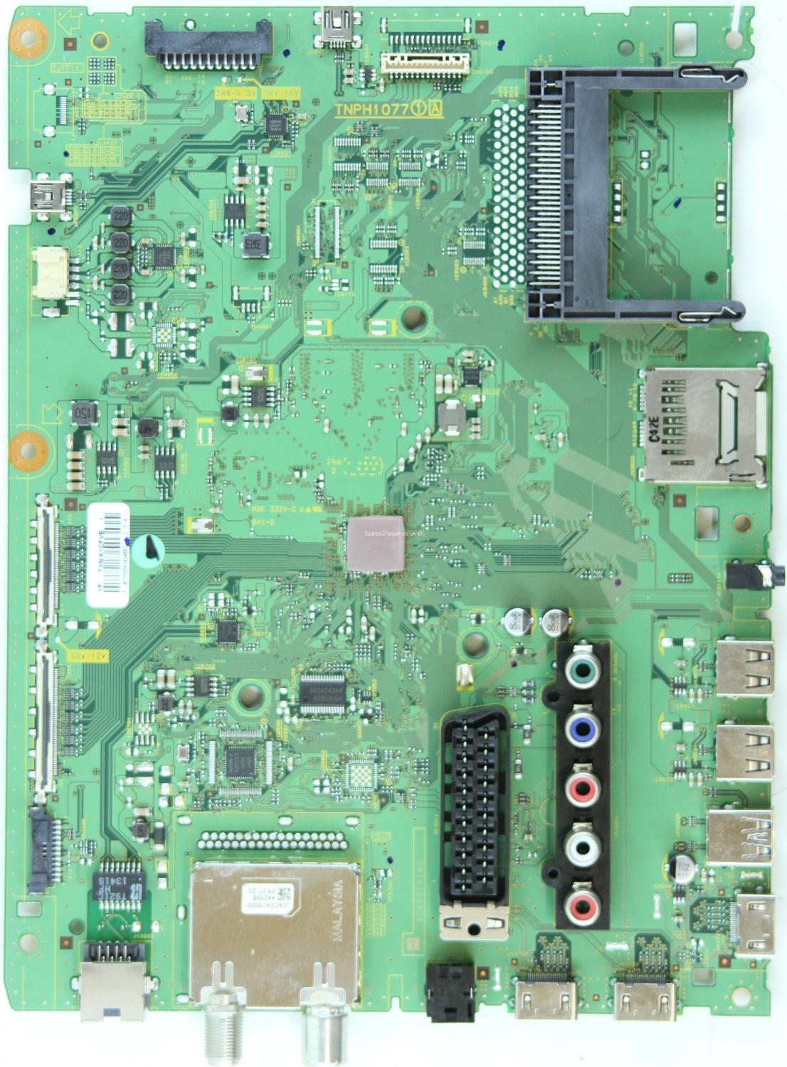 Panasonic TX-47AS740B - Main AV - TXN/A1CFVB YF - TNPH1077 1A