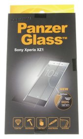 Panzerglass Display Protective Plastic Film - Premium Protective Glass For Sony Xperia Xz1, Clear