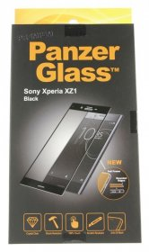 Panzerglass Display Protective Plastic Film - Premium Protective Glass For Sony Xperia Xz1, Black