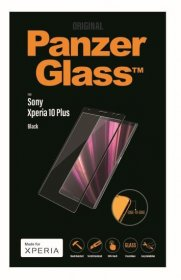 Panzerglass Display Protective Plastic Film - Premium Protective Glass For Adaptable For Sony Xperia 10 Plus Black