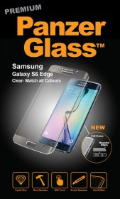 Panzerglass Display Protective Plastic Film - Premium Protective Glass For Adaptable For Samsung Galaxy S6 Edge, Clear