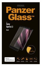 Panzerglass Display Protective Plastic Film - 7628 Premium Protective Glass For Adaptable For Sony Xperia L3, Black