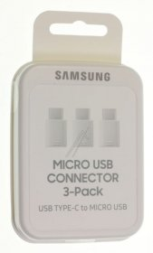 Samsung Usb adaptor - Ee-gn930kwegww Samsung Usb-c To Micro Usb Adaptor Ee-gn930 Pack Of 3 White