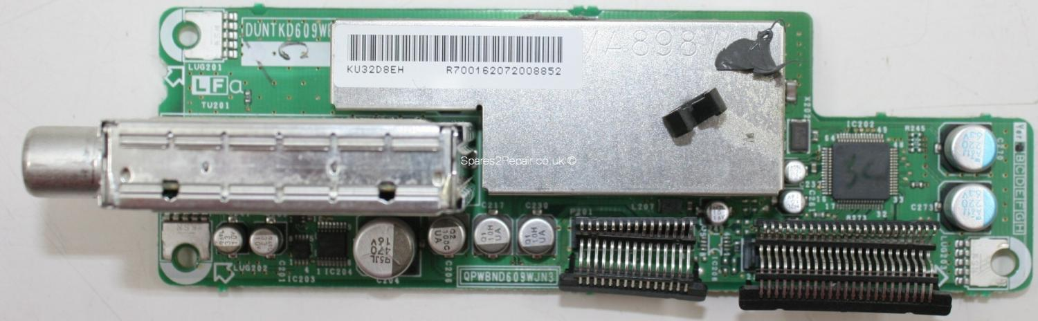 Sharp LC-32GD8E - Tuner - DUNTKD609WE - KU32D8EH - QPWBND609WJN3