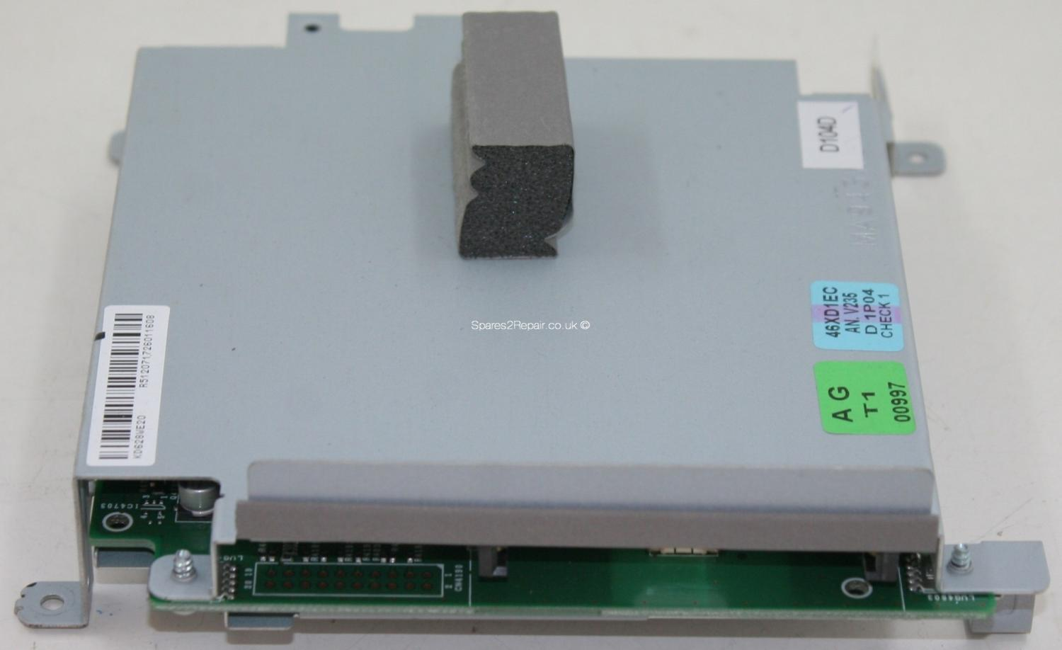 Sharp LC-46XD1E - Card Reader - KD628WE20 - QPWBXD628WJN3 - KD628