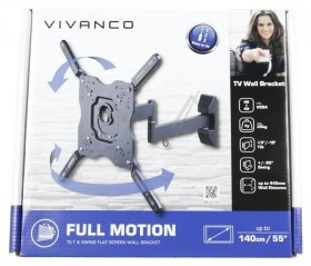 Vivanco Tv Wall Mount - Bfmo 6040 Tv Wall Mount Adjustable Until vesa 400 Max 35kg