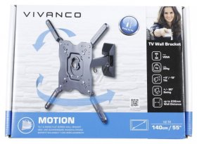 Vivanco Tv Wall Mount - Bmo 6040 Tv Wall Mount Adjustable Until Vesa400 Max 35kg