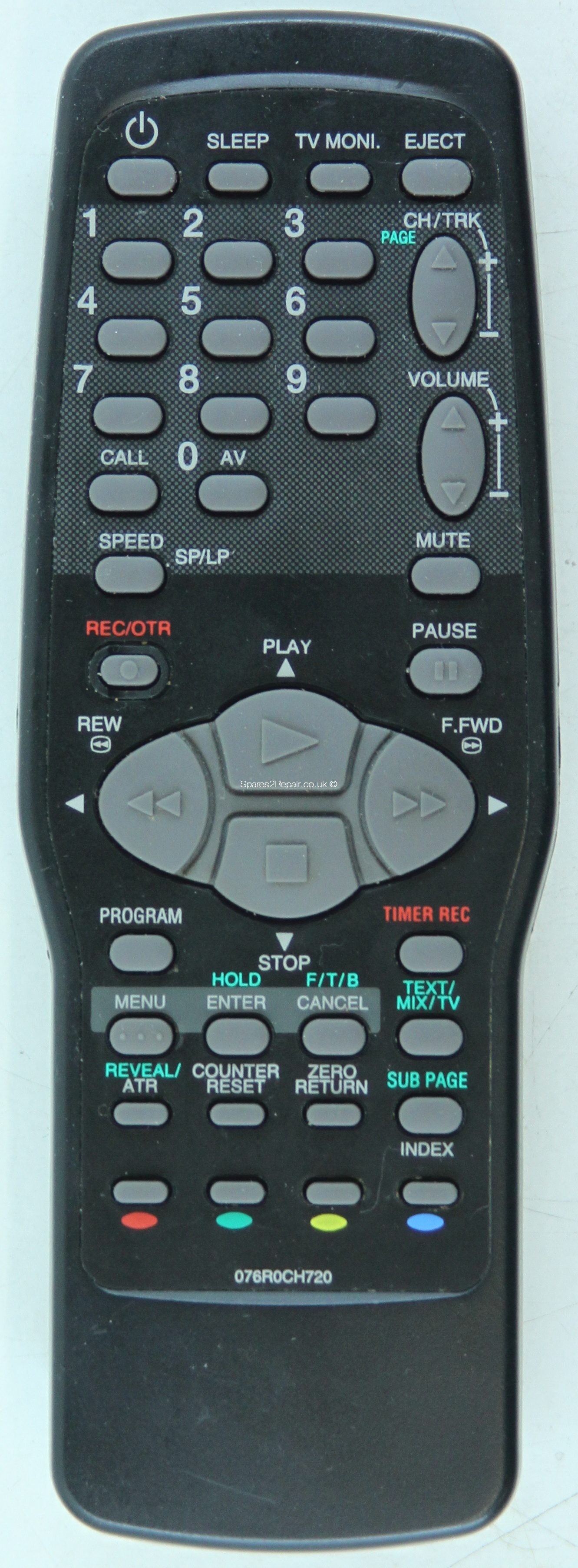 Bush 076R0CH720 Remote Control (Original)