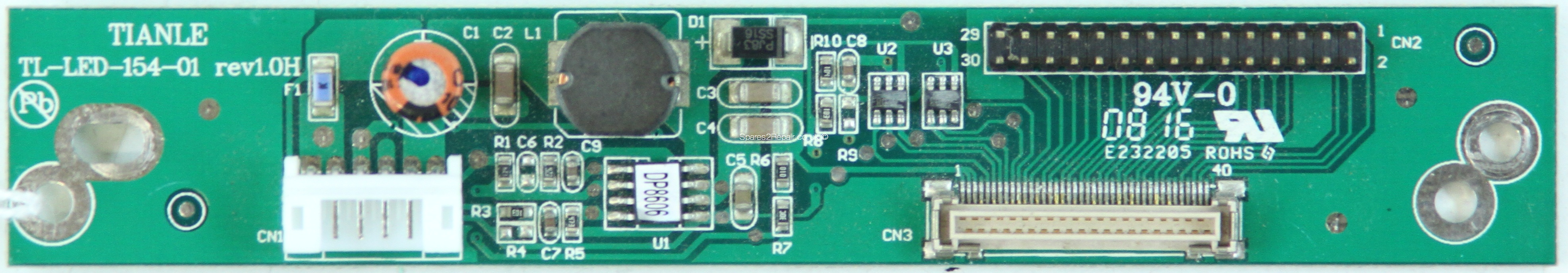 Cello C1599F - LED Driver Board - TL-LED-154-01 - rev1.0H