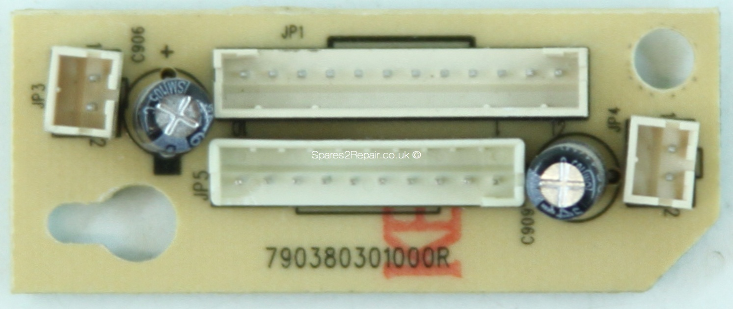 HP VS17E - Connector - 792380301000R - 490380300500R - Rev B