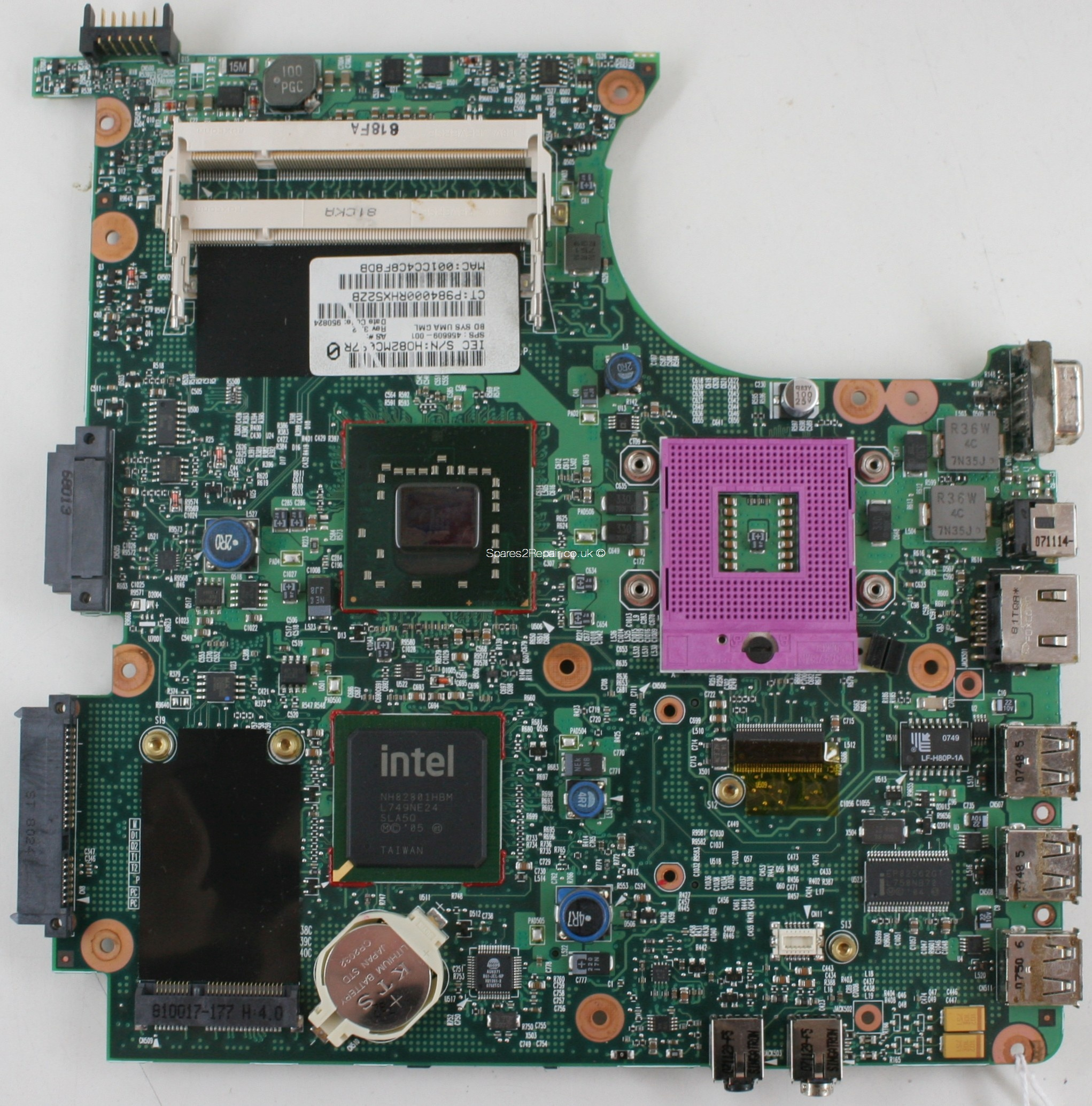 HP Compaq 6720s - Motherboard - 456609-001