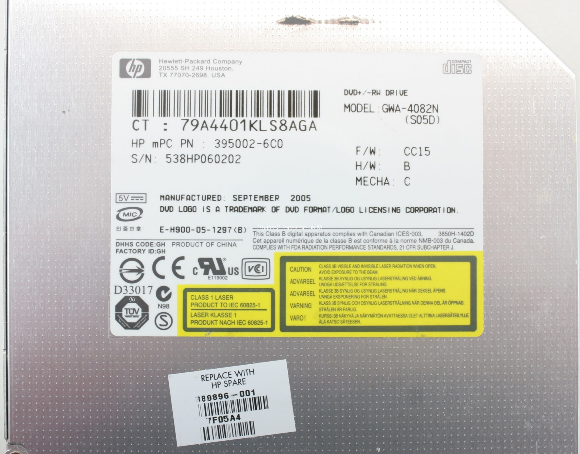 DVD GWA 4082N WINDOWS 7 X64 DRIVER