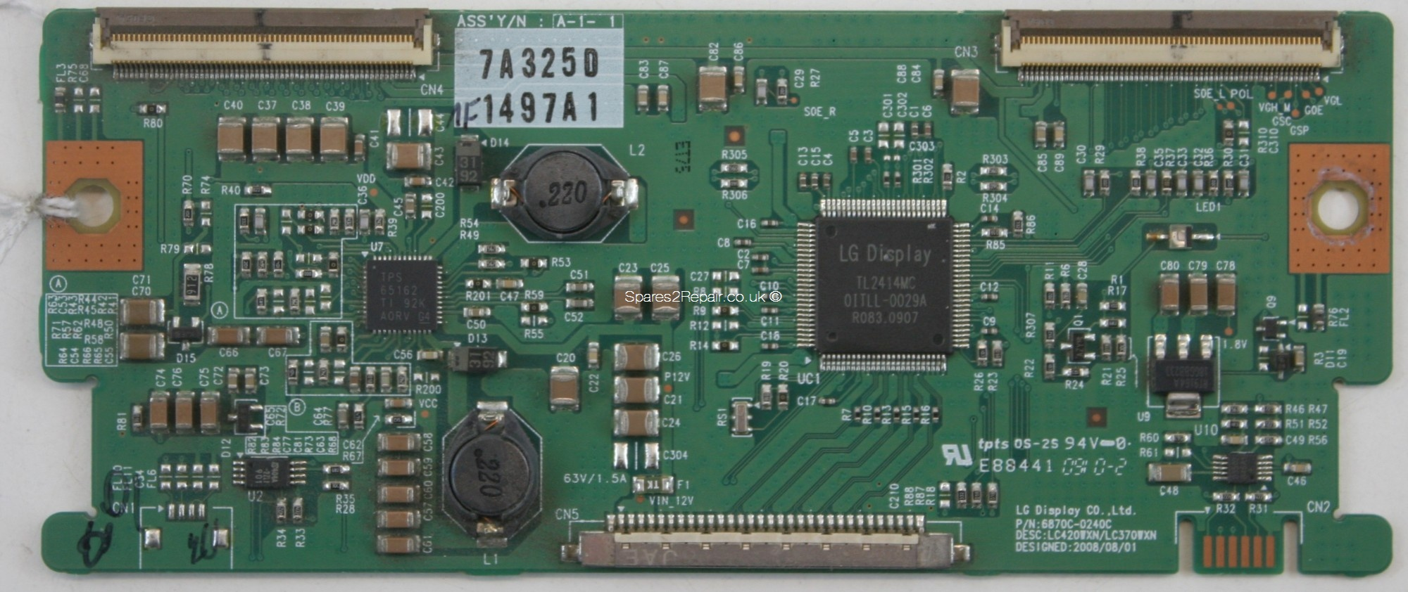 LG 42LH2000 - LVDS - 6870C-0240C - 6871L-1497A - LC420WXN - LC370WXN