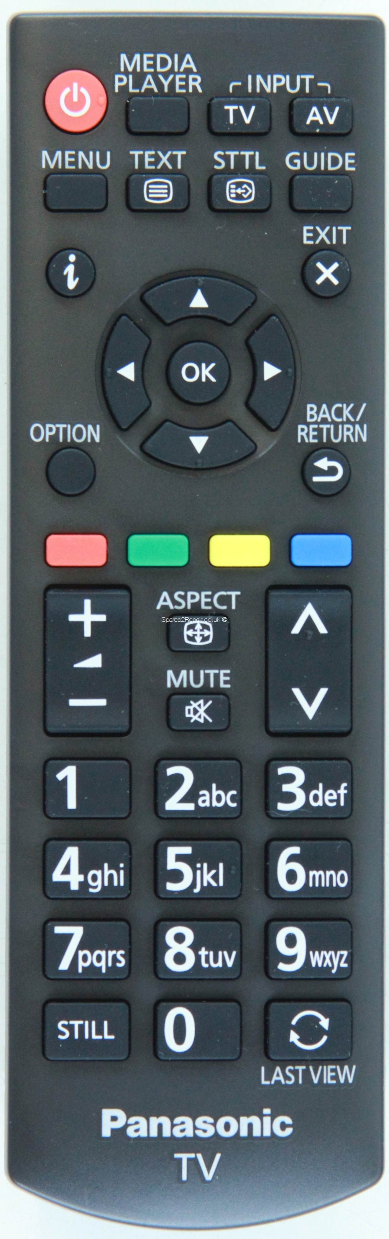 Panasonic Remote Control N2QAYB000816 (Original) (Genuine)