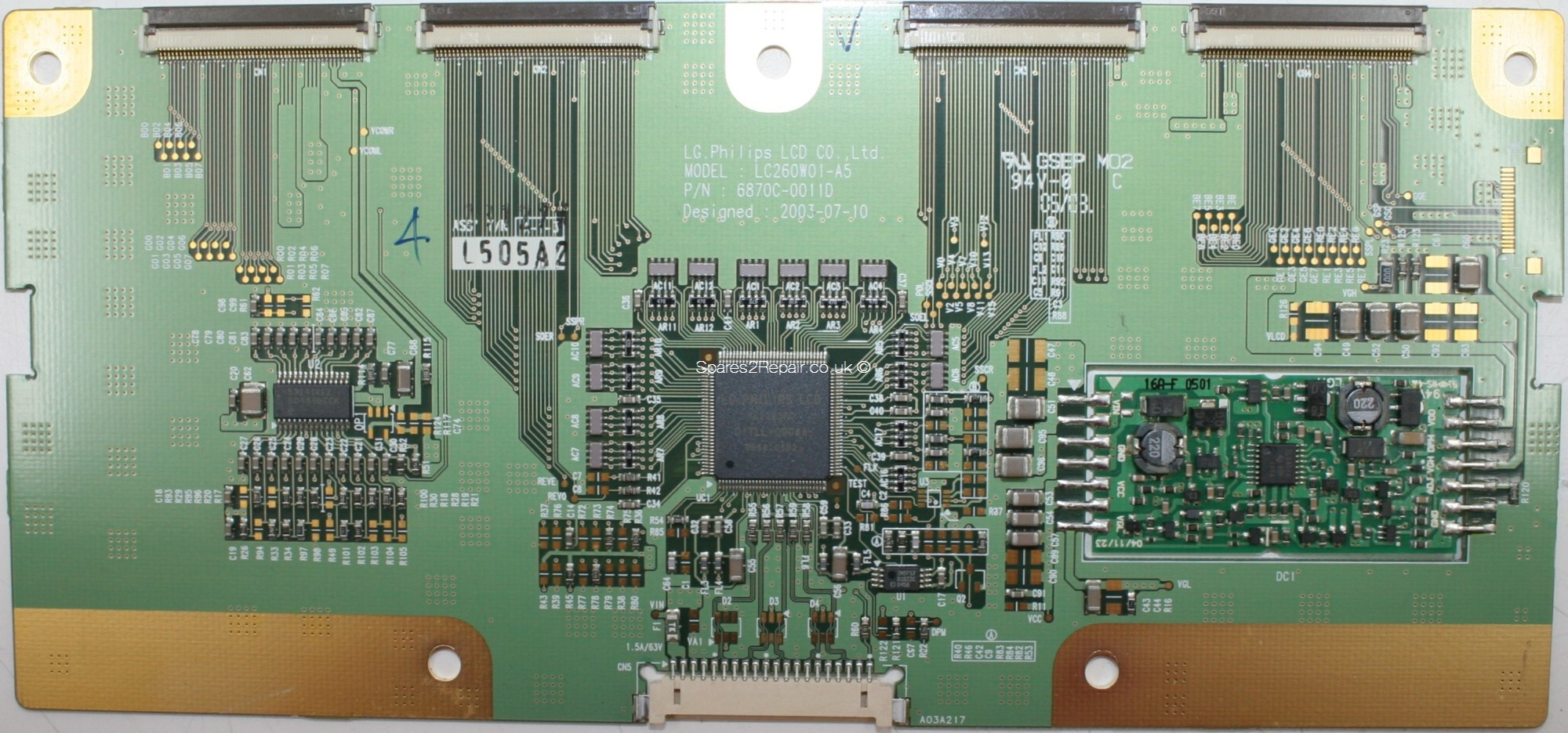 Philips 26PF9946 - LVDS - 6871L-0505A - 6870C-0011D - LC260W01-A5