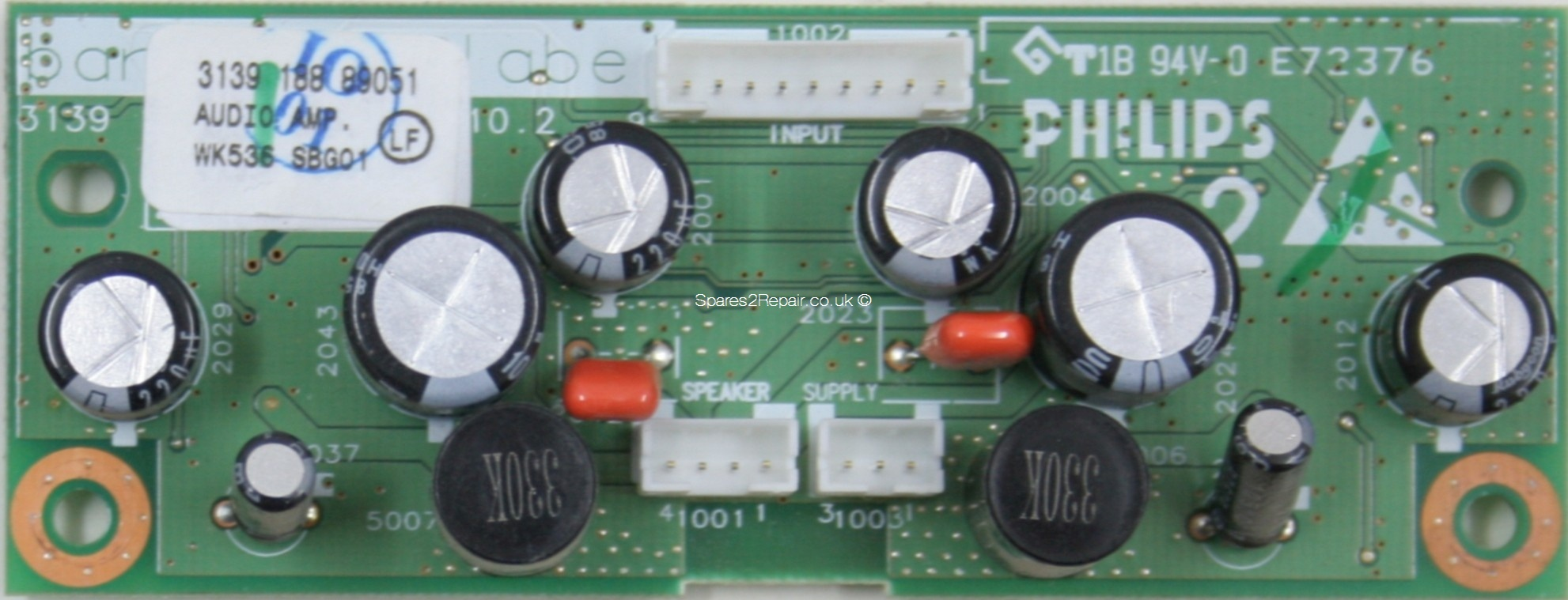 Philips 32PF5520D/10 - Audio Amp - 3139 188 89051 - 3139 123 5970.2