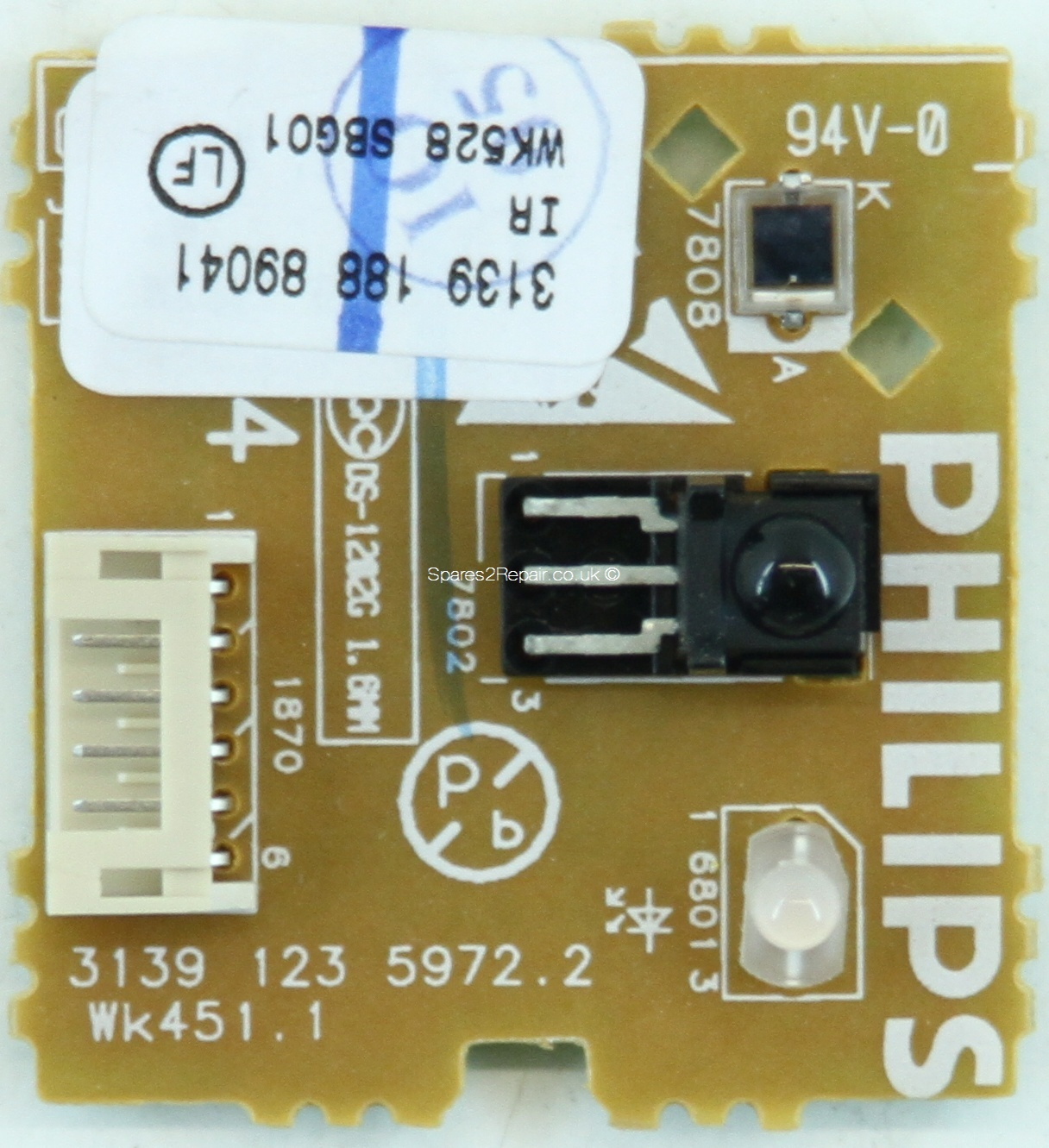 Philips 32PF7520D - IR - 3139 123 5972.2 - 3139 188 89041