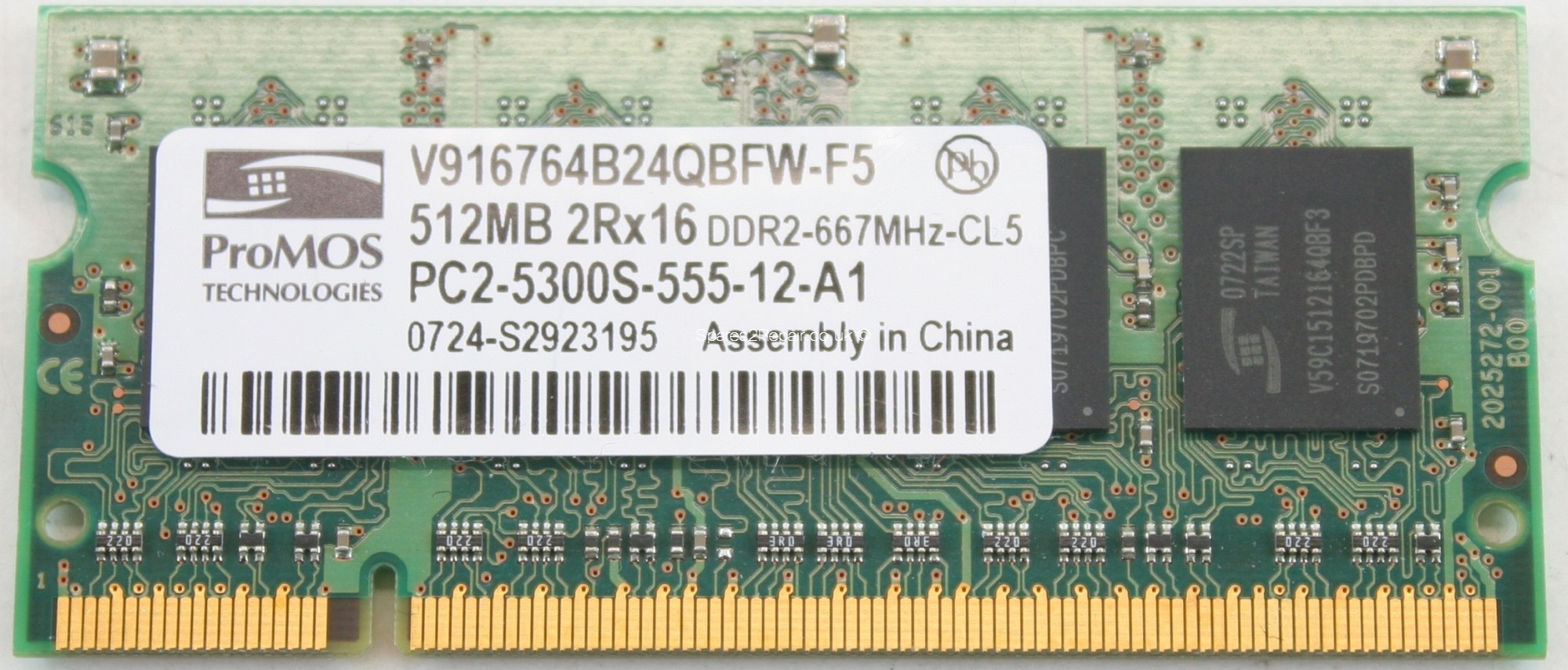Promos 512mb Pc2 5300s Ddr2 667 Laptop Memory 360 Ram Sodimm