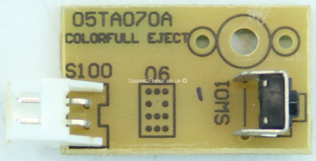 Technosonic LCD2050D - Button - 05TA070A - COLORFULL EJECT